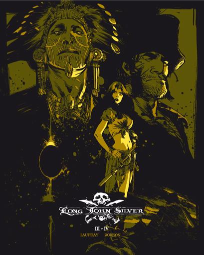 Tirage Album Long John Silver