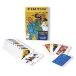 jeux cartes familles tintin