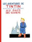"""Couverture de la Bande dessinée """"Tintin au payx des soviets"""""""