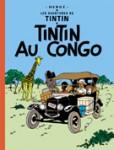 """Couverture de la Bande dessinée """"Tintin au Congo"""""""