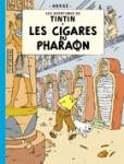 """Couverture de la Bande dessinée """"Les cigares du Pharaon"""""""
