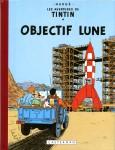 """Couverture de la Bande dessinée """"Objectif Lune"""""""