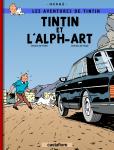 """Couverture de la Bande dessinée """"Tintin et l'Alph-Art"""""""