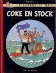 """Couverture de la Bande dessinée """"Coke en stock"""""""