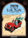 """Couverture de la Bande dessinée """"Tintin au pays de l'or Noir"""""""