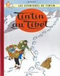 """Couverture de la Bande dessinée """"Tintin au Tibet"""""""