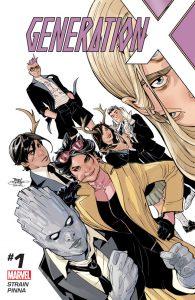 Couverture de Generation X #1 par Terry Dodson