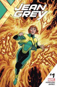 Couverture de Jean Grey #1 par David Yardin
