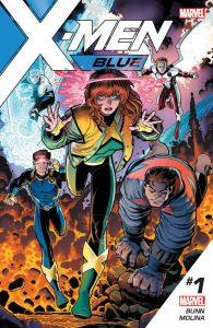 Couverture de X-Men Blue #1 par Arthur Adams