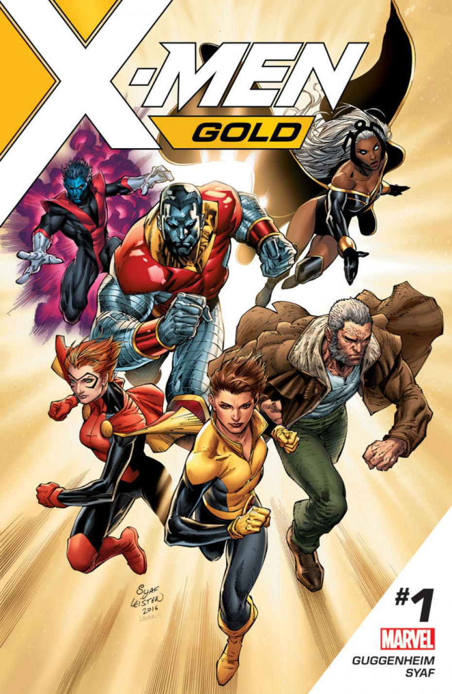 Couverture de X-Men Gold #1 par Ardian Syaf