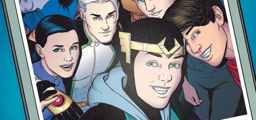 Page 11 de Young Avengers 15 par Jamie McKelvie