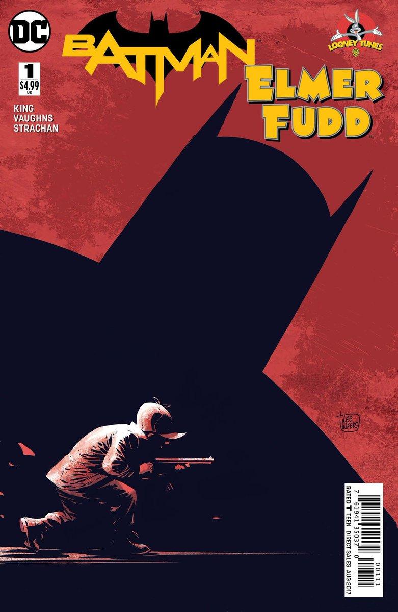 Batman Elmer fudd #1 cover
