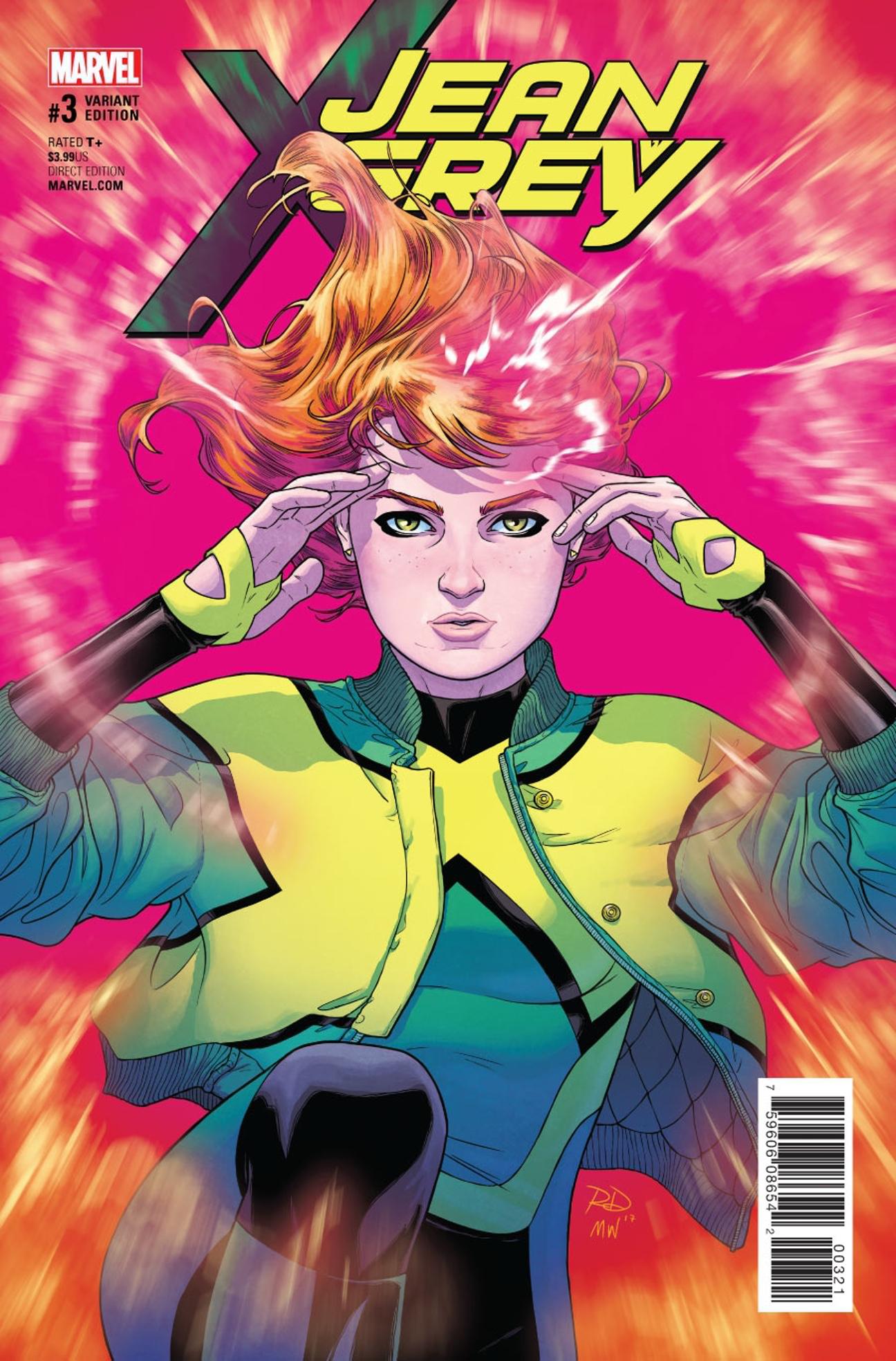 Russell Dauterman - Jean Grey #3 variant cover