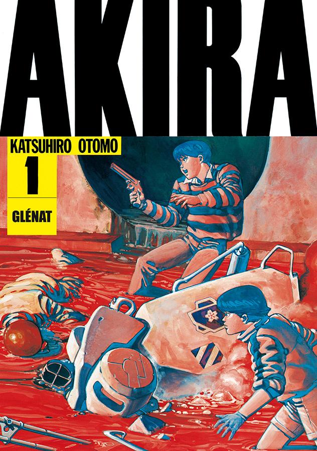 Couverture du premier tome de Akira
