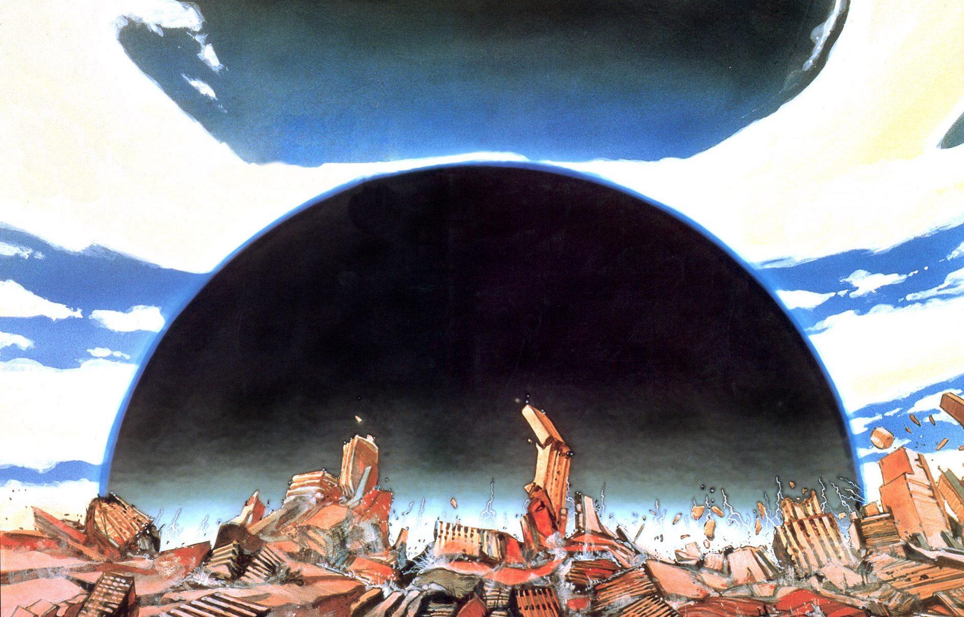 Page d'introduction du manga Akira