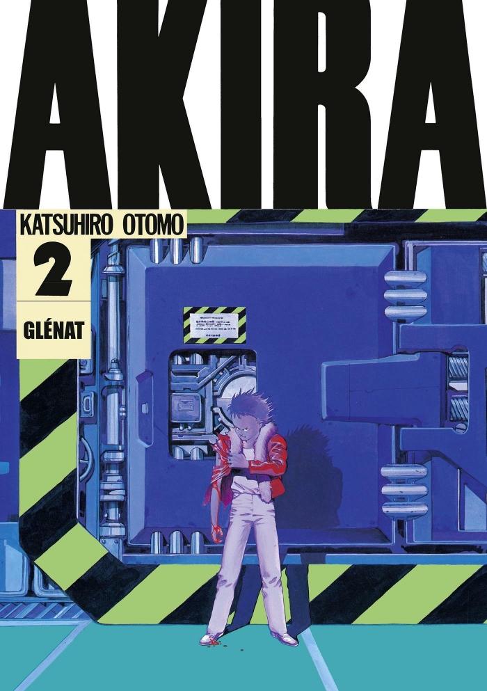 Couverture du deuxième tome de Akira