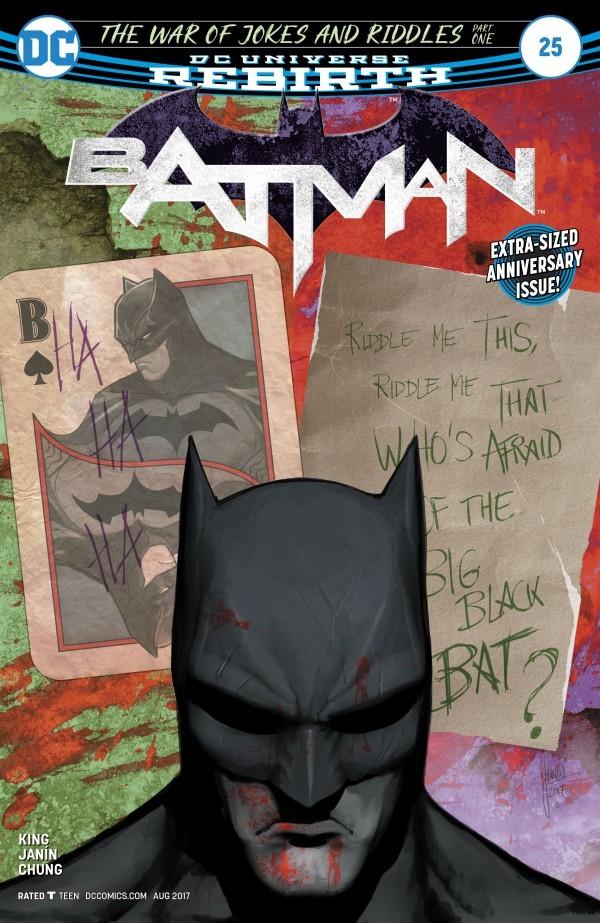 Mikel Janin - Batman #25 cover