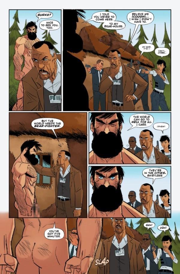 Nil Vendrell - Shirtless Bear-Fighter #1 p10