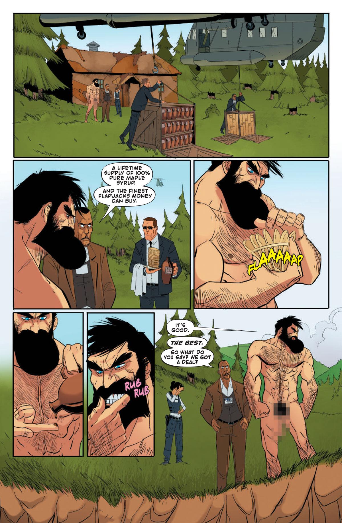 Nil Vendrell - Shirtless Bear-Fighter #1 p14