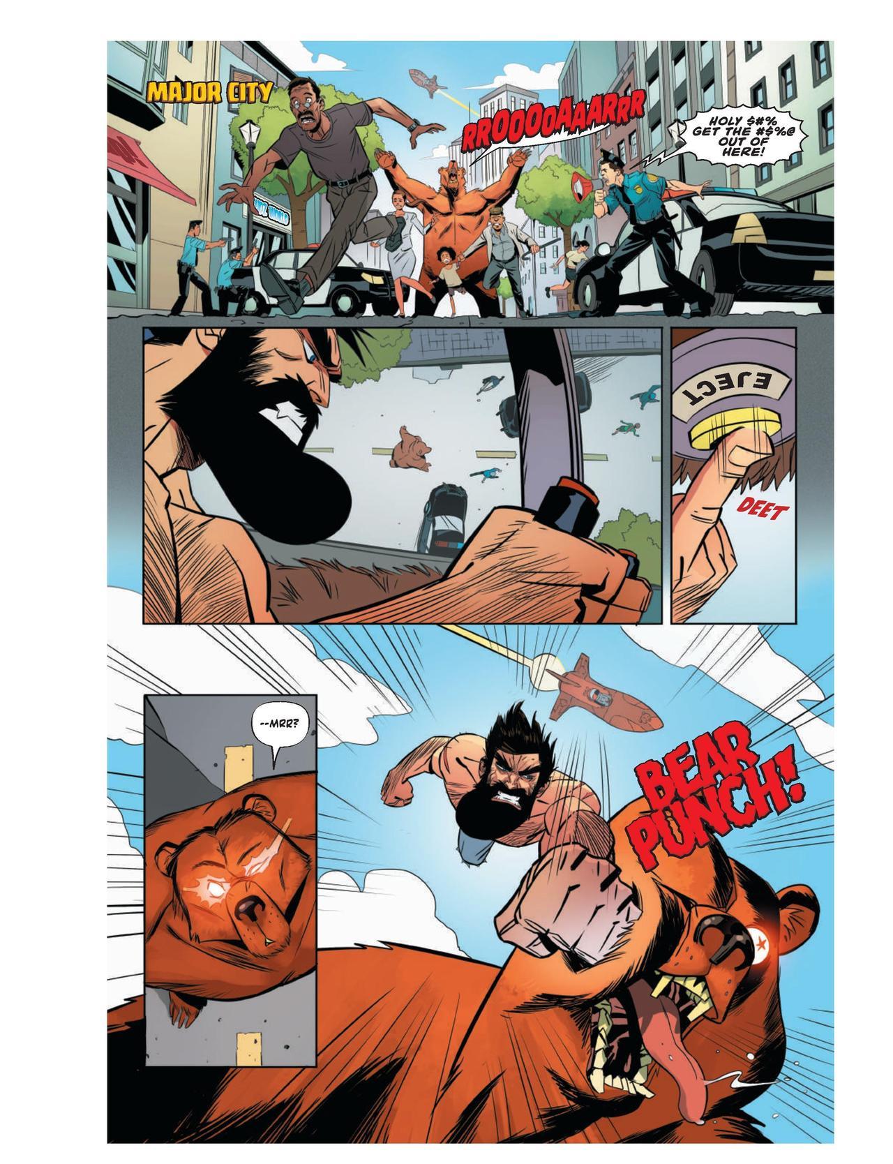 Nil Vendrell - Shirtless Bear-Fighter #1 p23