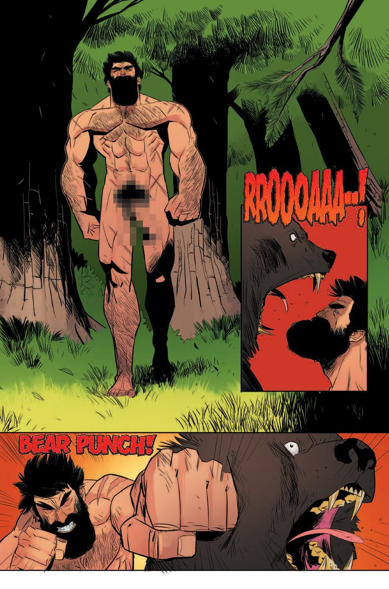 Nil Vendrell - Shirtless Bear-Fighter #1 p05