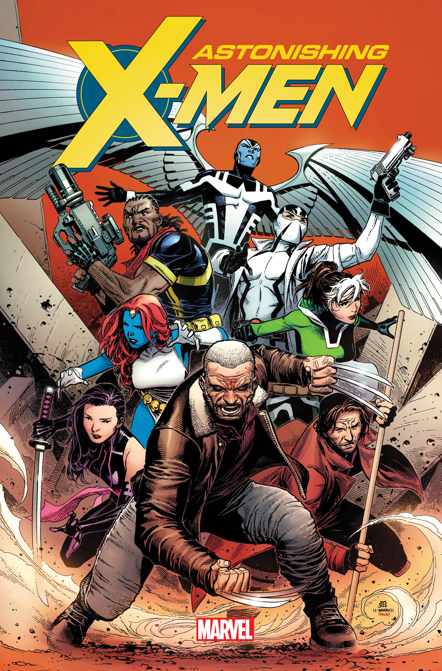 Jim Cheung - Astonishing X-Men #1 cover