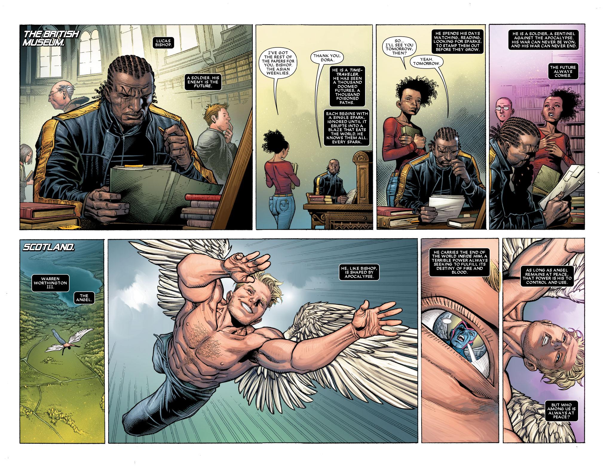 Jim Cheung - Astonishing X-Men #1 p04-05