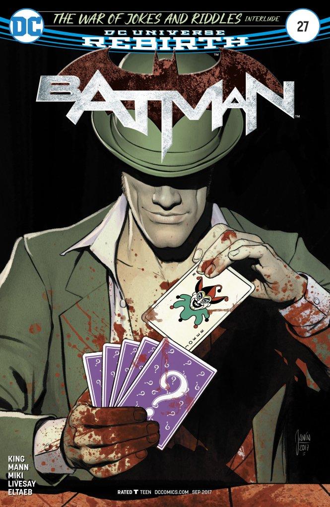 Mikel Janin - Batman #27 cover