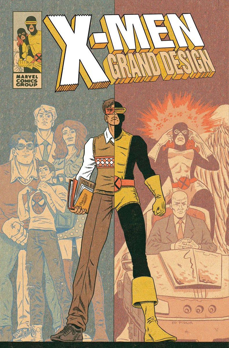 Ed Piskor - X-Men Grand Design #1 cover