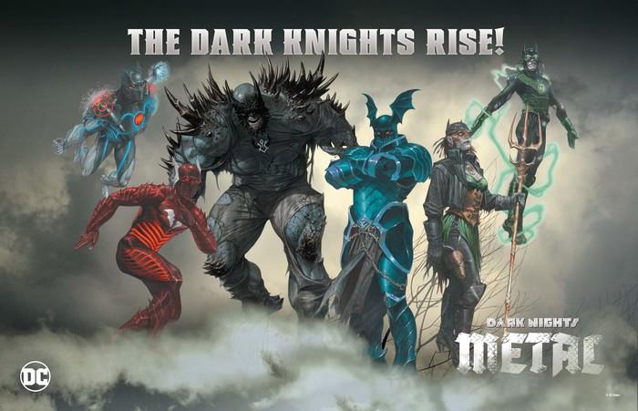 Dark Nights metal Batmen