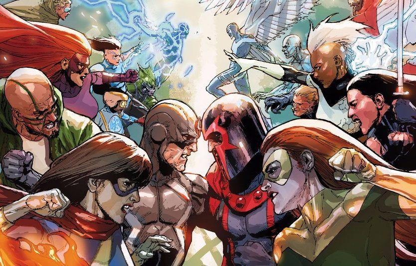 Leinil Yu - Inhumans versus X-Men