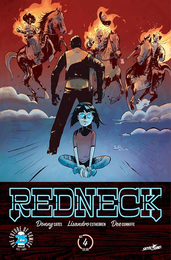 Lisandro Estherren - Redneck #4 cover