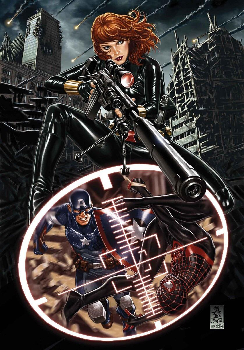 Mark Brooks - Secret Empire #7 cover