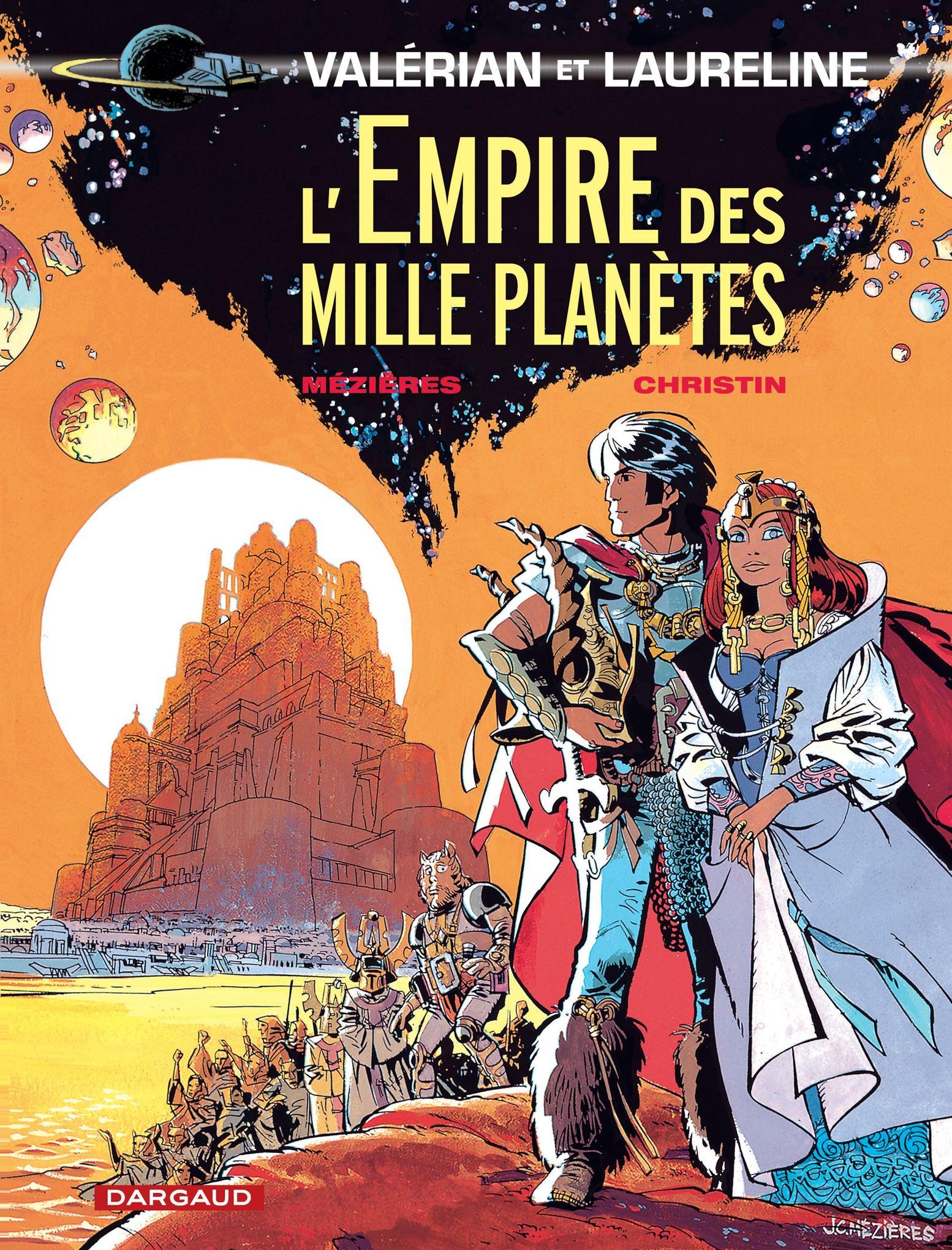 Couverture l'Empire des mille planètes