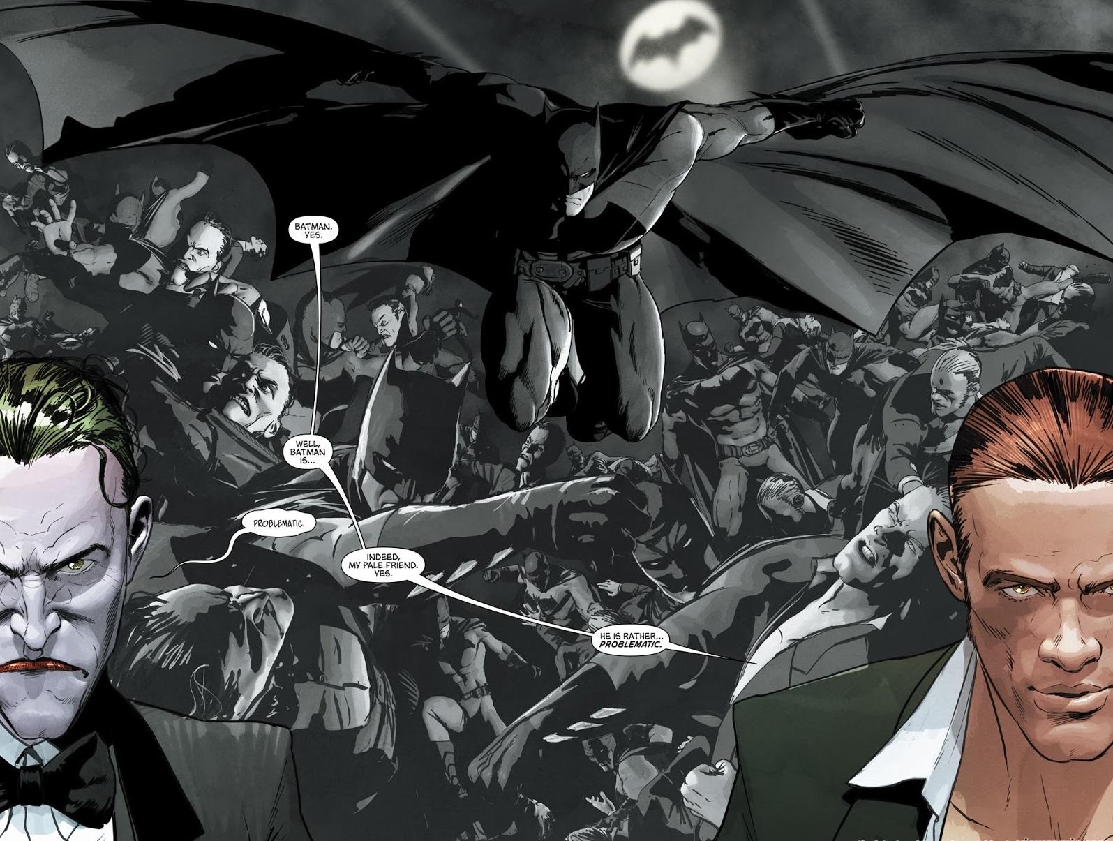 Mikel Janin - Batman #29 p10-11