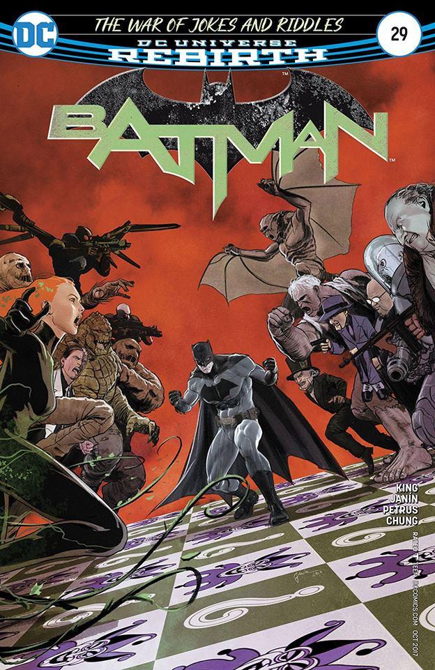 Mikel Janin - Batman #29 cover