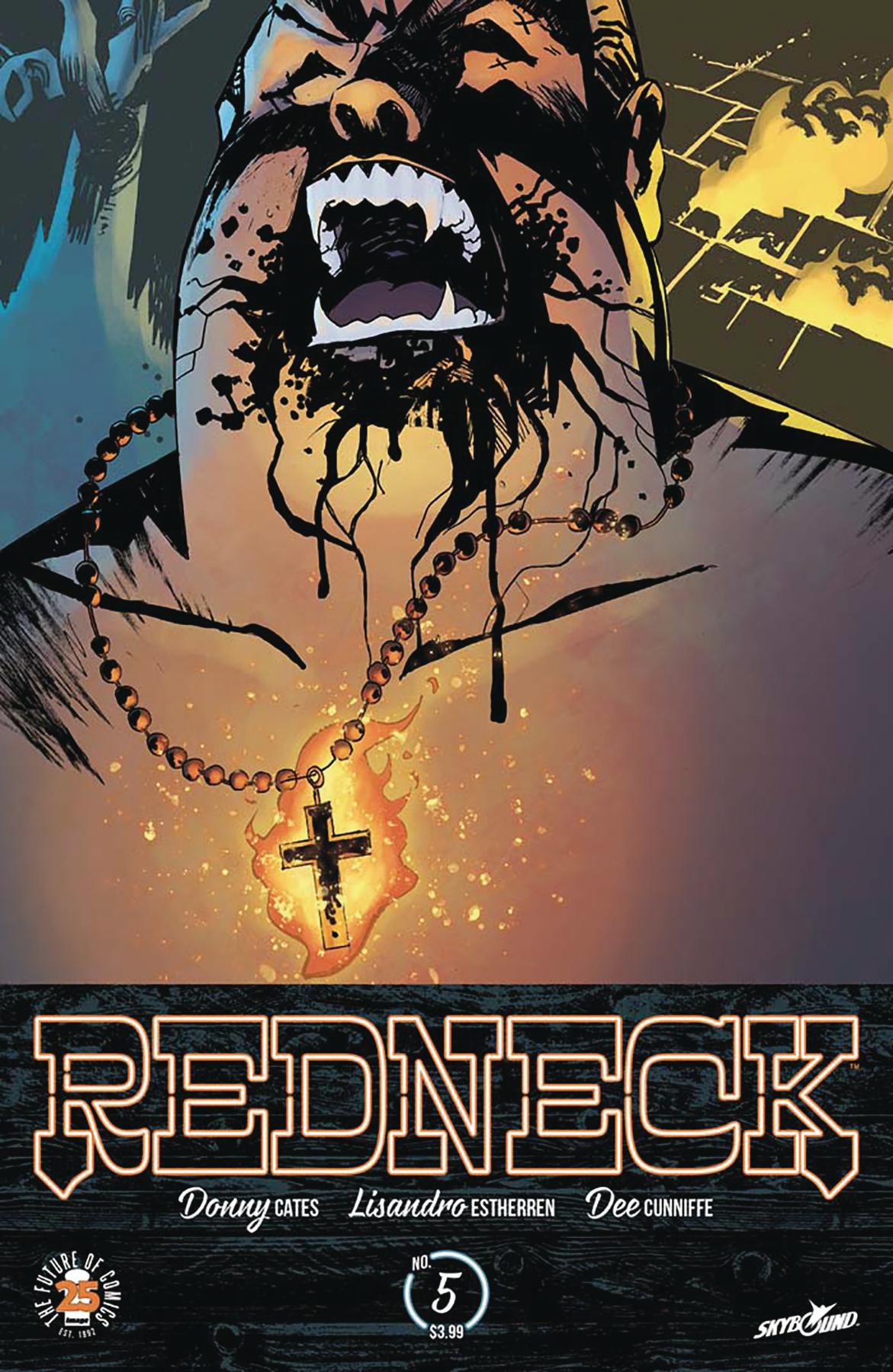 Lisandro Estherren - Redneck #5 cover