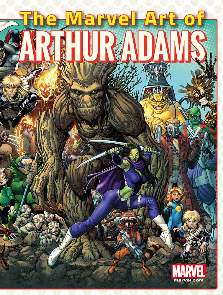 Marvel Art of Arthur Adams