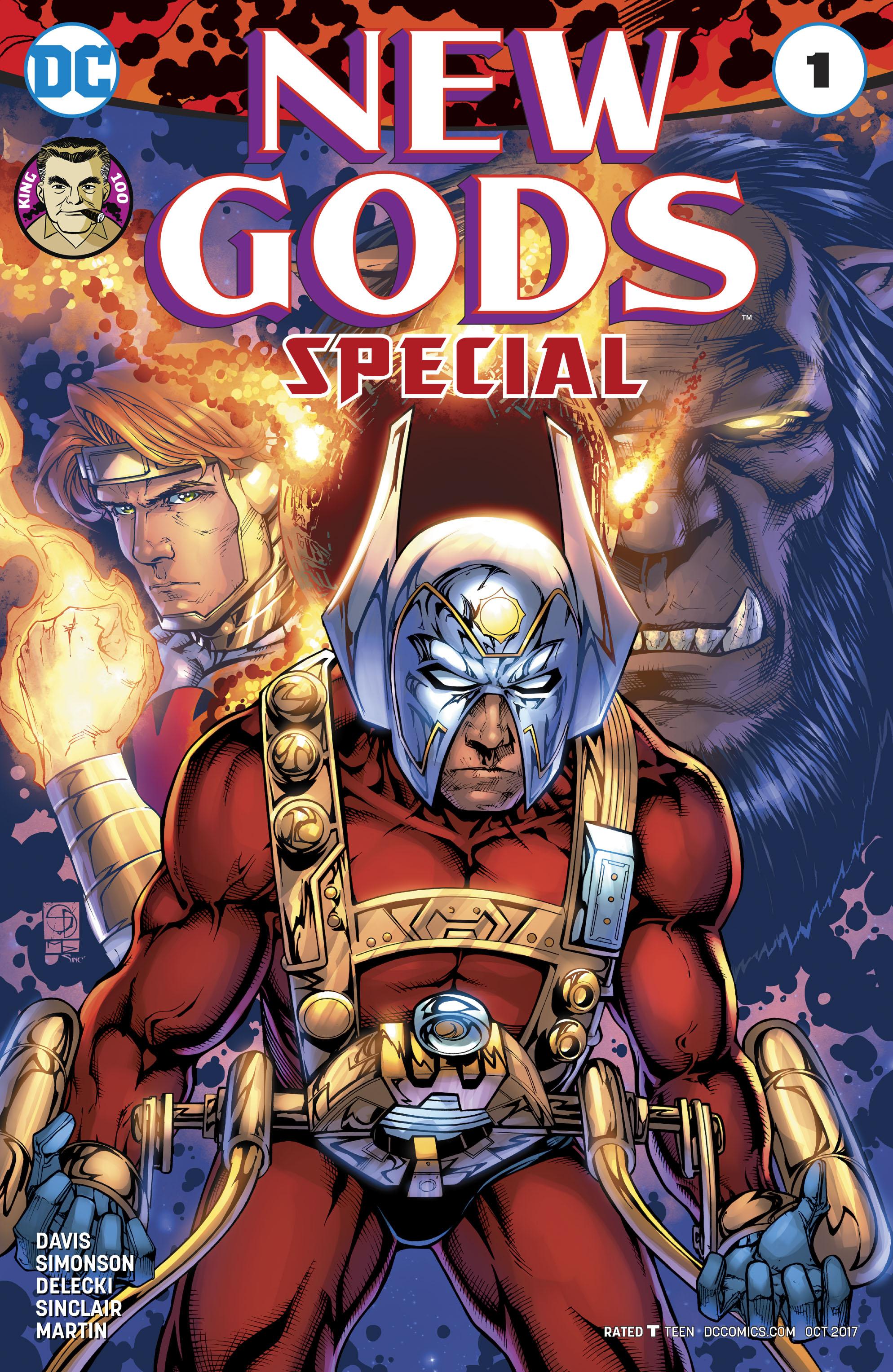 Shane David - New Gods Special cover