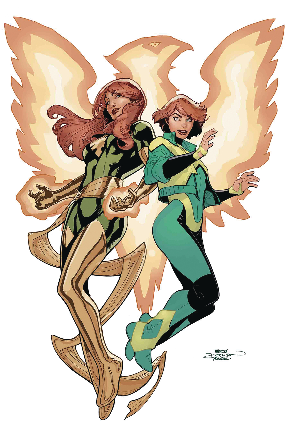 Terry Dodson - Generation The Phoenix cover