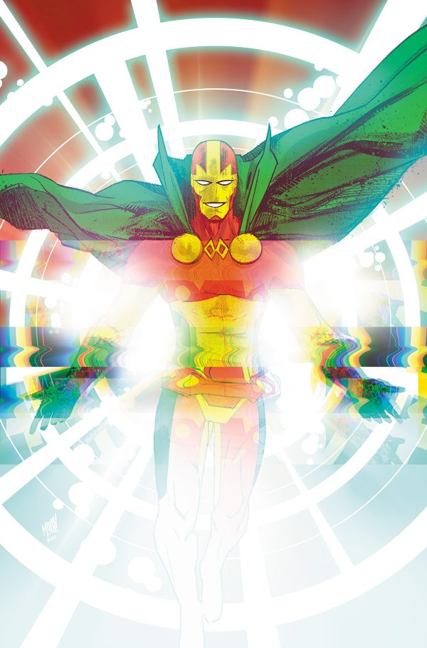 Mitch Gerards - Mister Miracle #1 cover