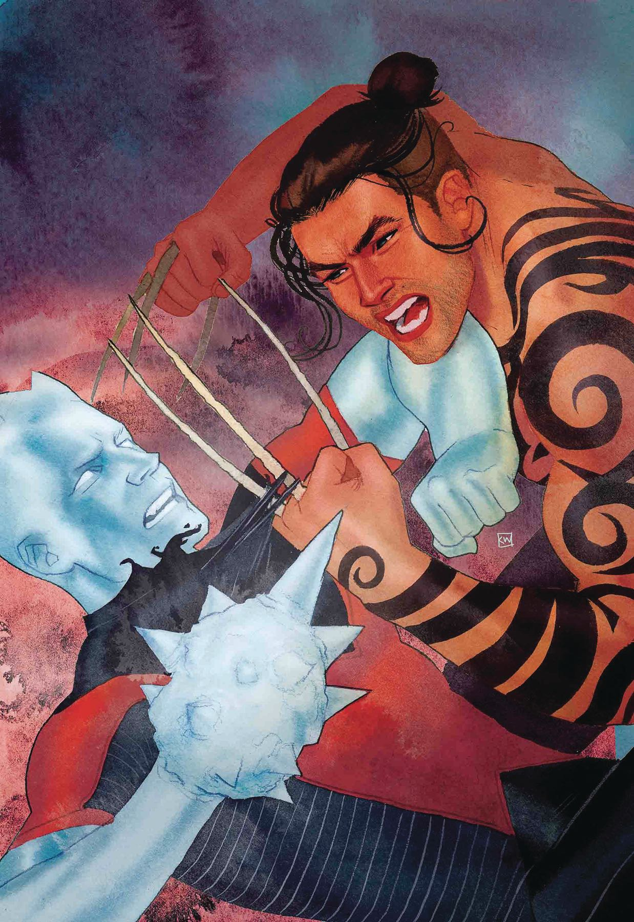 Kevin Wada - Iceman #4 cover
