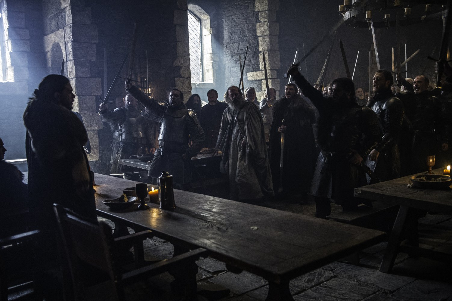Jon Snow sacré roi du nord