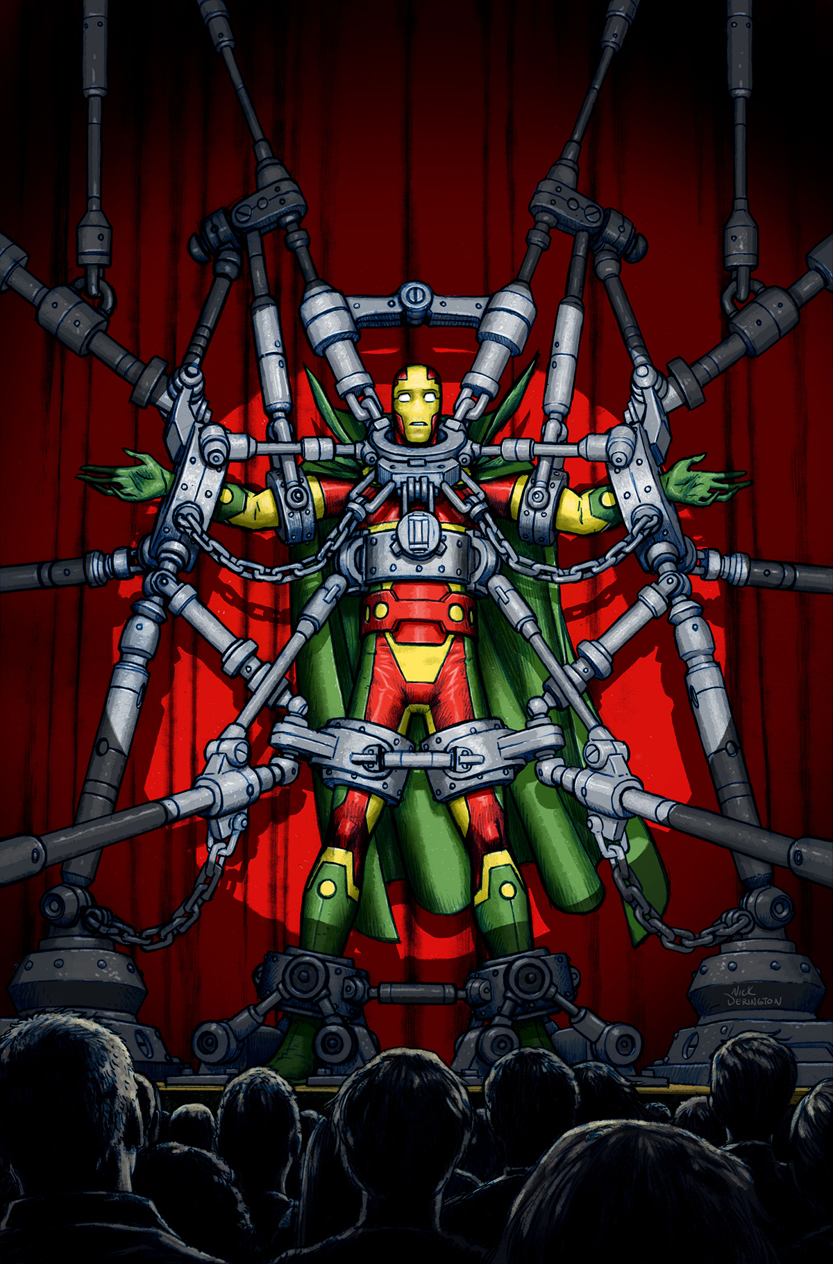 Nick Derington - Mister Miracle #1 cover