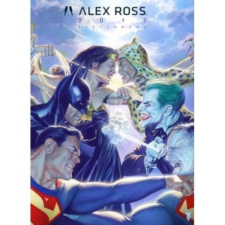 Alex Ross 2017 Sketchbook