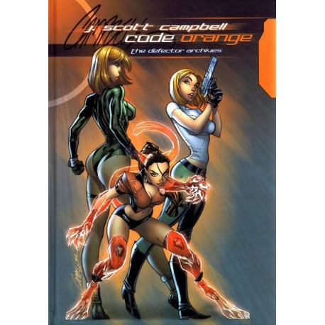 J. Scott Campbell Code Orange