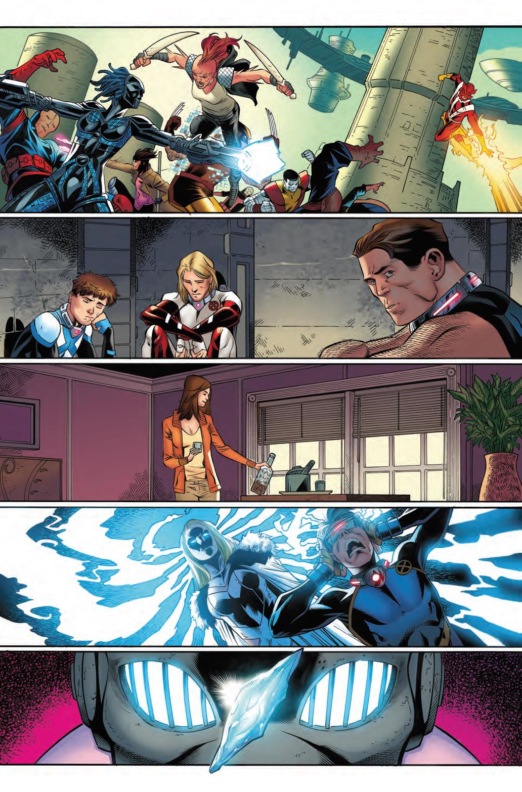 Cory Smith - X-Men Blue #9 p1