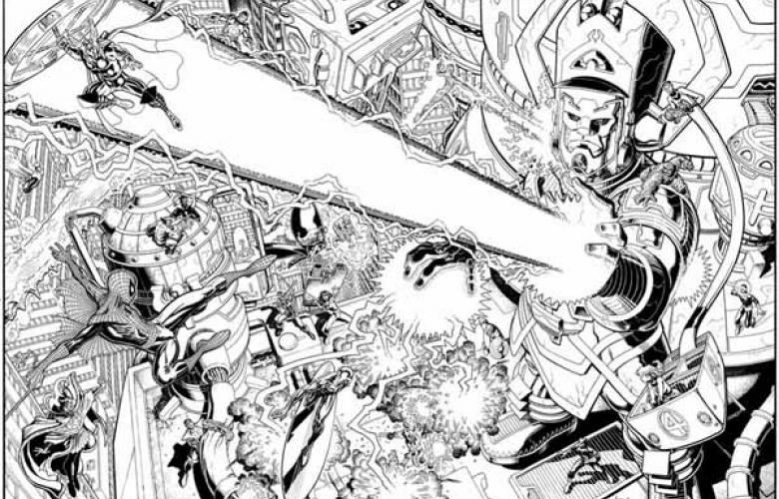 Arthur Adams, Marvel Arts, Galactus