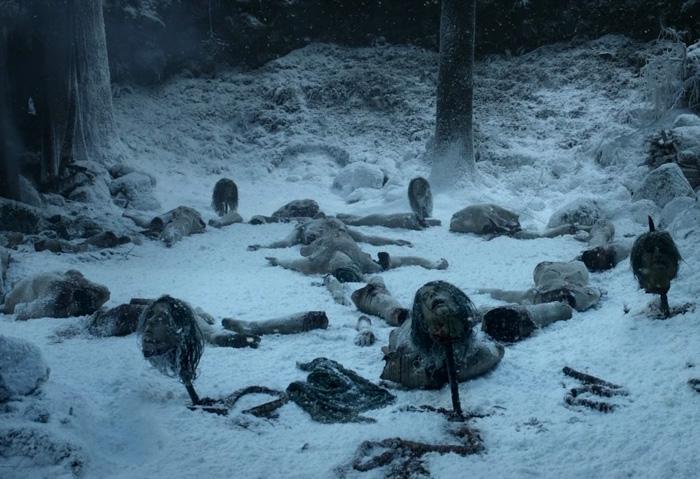 L'une des premières scènes de la saison 1