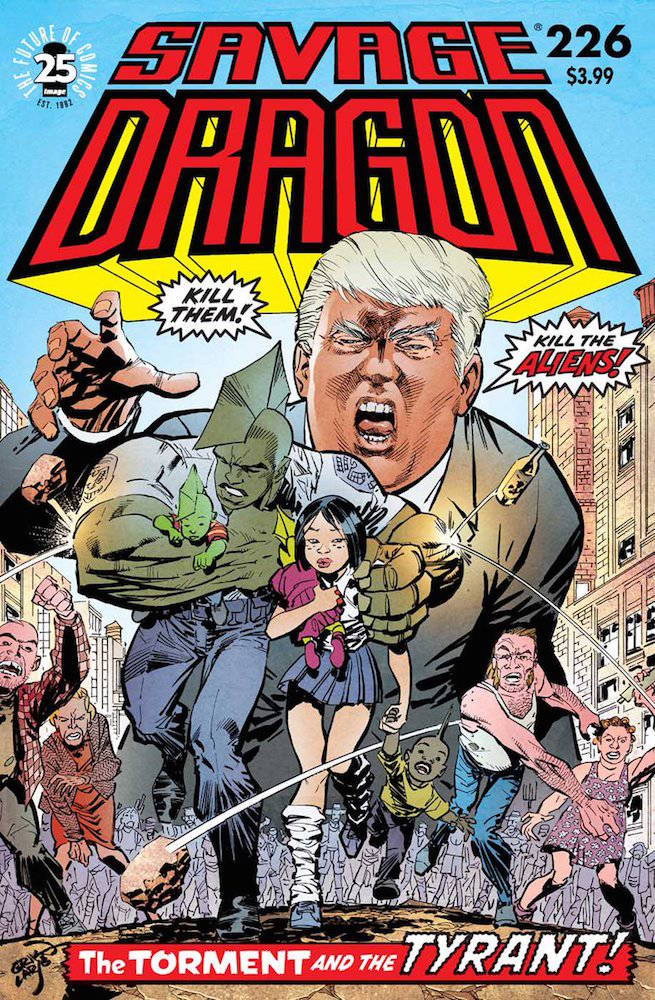 Savage Dragon #226 - Couverture Erik Larsen